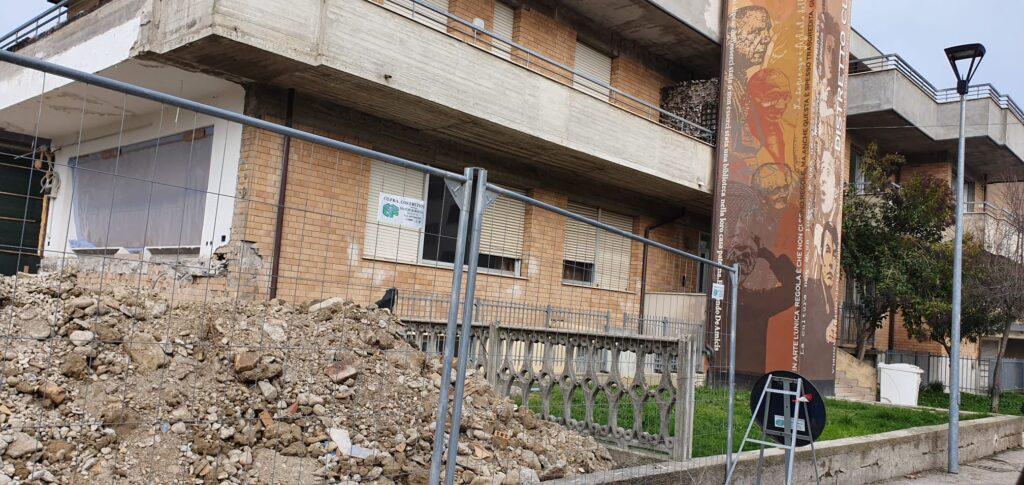 Pineto, al via i lavori di recupero dell'ex Casa Parrocchiale di Scerne