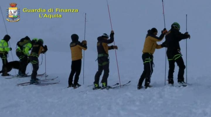 Dispersi sul Monte Velino, trovati i corpi dei quattro escursionisti