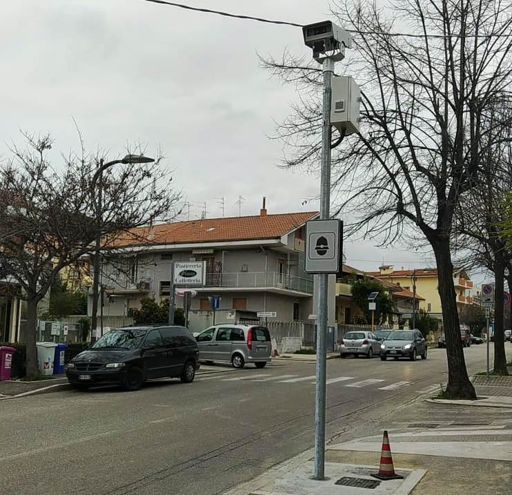 Pescara, autovelox in via di Sotto in esercizio da lunedì