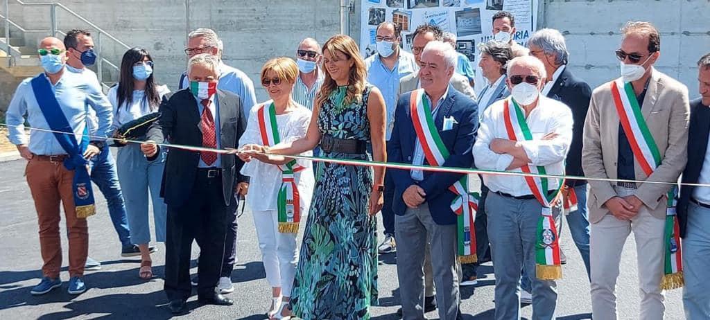 Alba Adriatica, inaugurato il nuovo depuratore consortile. Servirà 5 Comuni