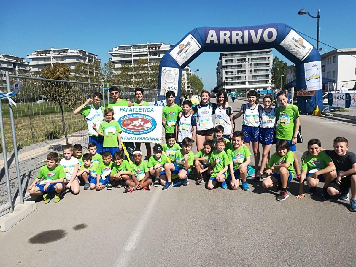 I giovani dell'Atletica Vomano campioni di solidarietà