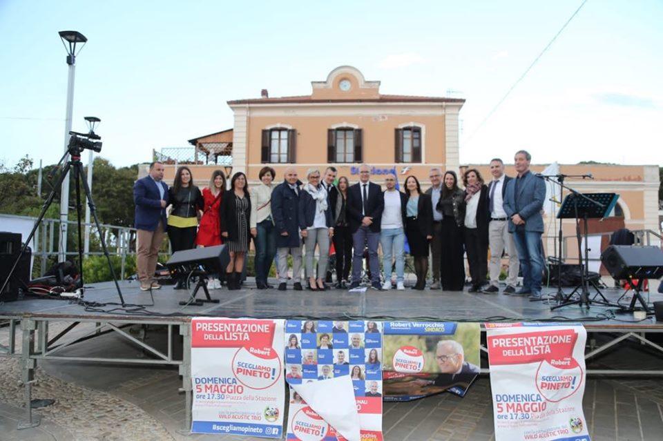 """Elezioni Pineto, presentata la lista """"Scegliamo Pineto!"""" del candidato sindaco Robert Verrocchio"""