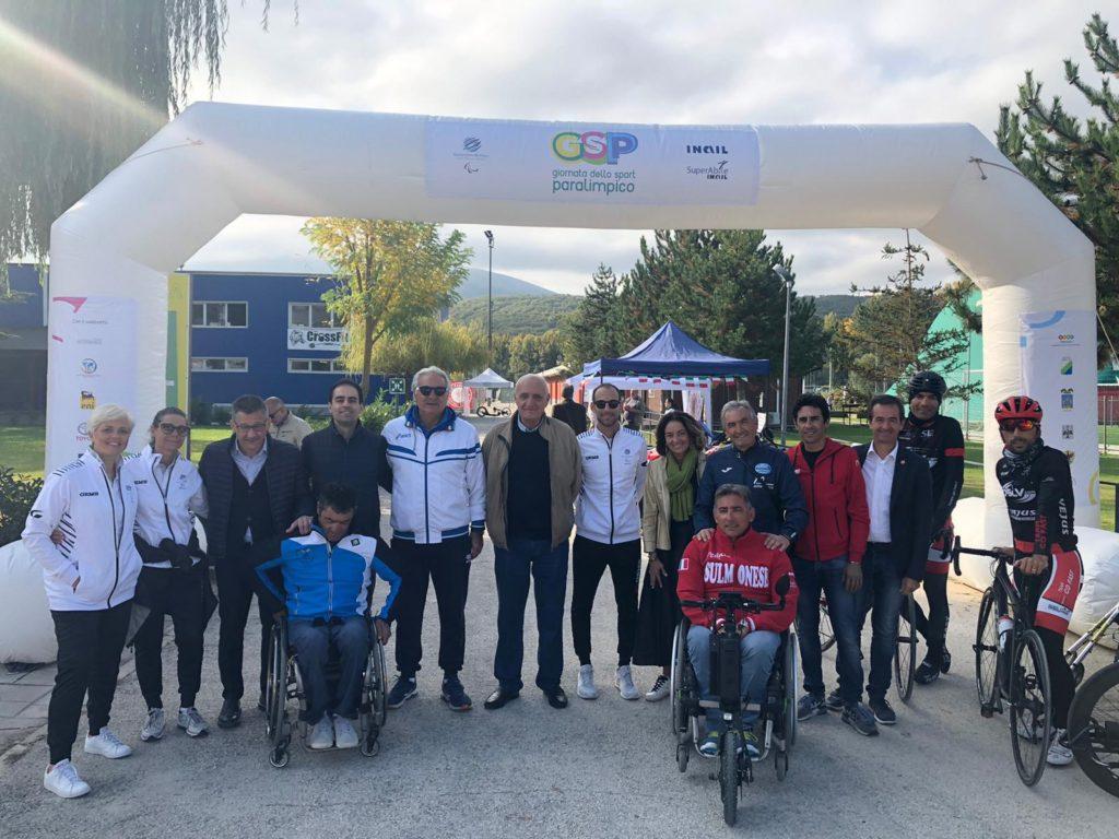 Successo a L'Aquila per la Giornata dello Sport Paralimpico