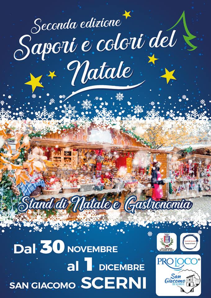 A San Giacomo di Scerni tutto pronto per Sapori e colori del Natale