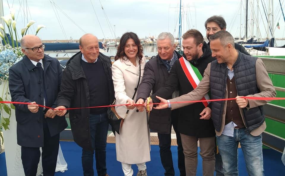Porto Giulianova, inaugurato il primo resort galleggiante in Abruzzo