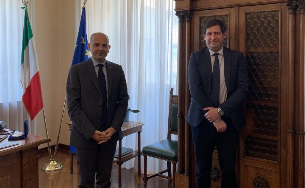 Quaresimale incontra Prefetto di Teramo De Prisco:sicurezza al centro