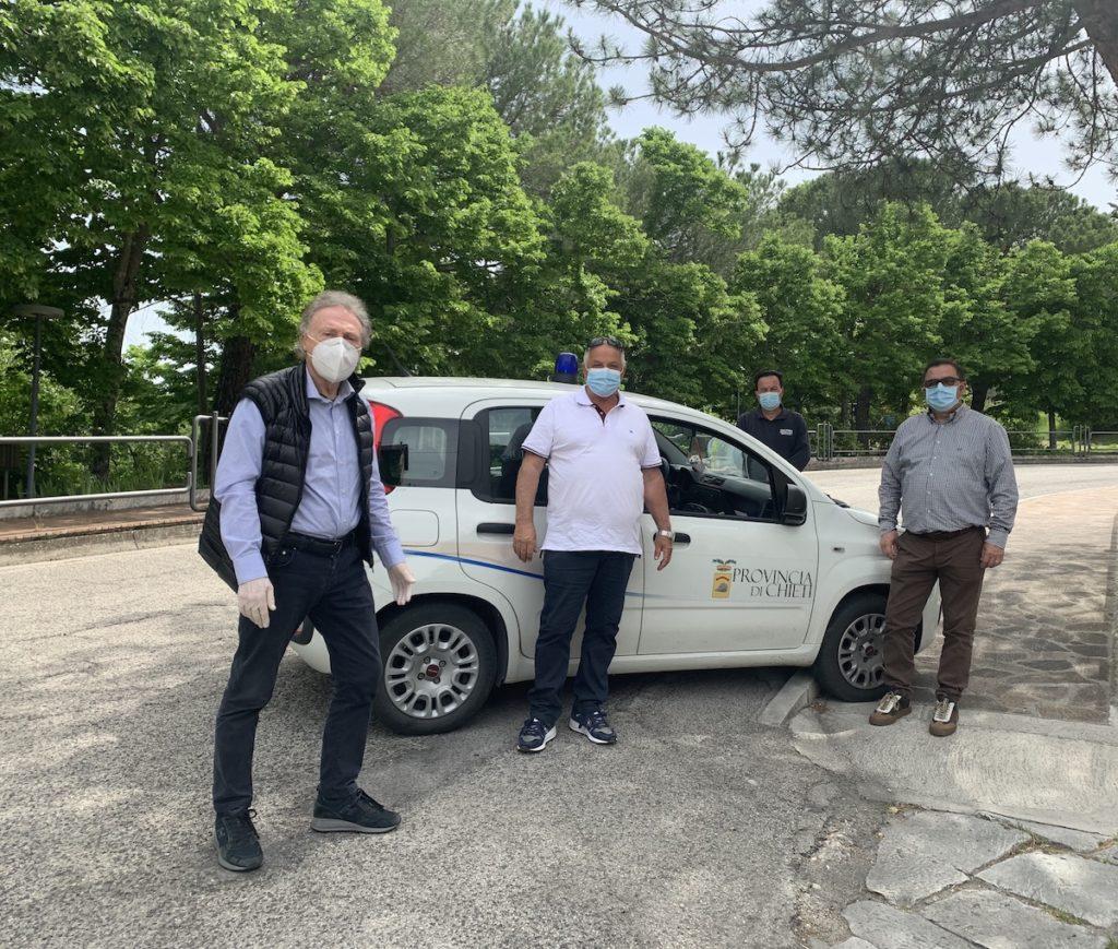 Chieti, al via i lavori di messa in sicurezza delle strade del Distretto 6