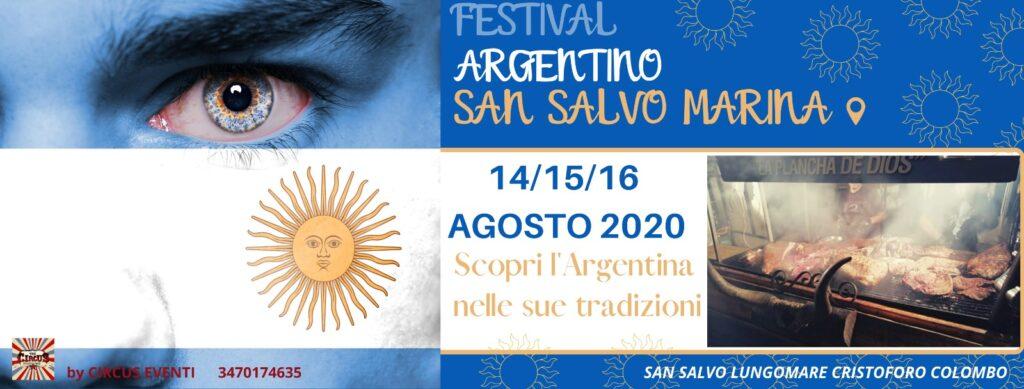 San Salvo Marina, dal 14 al 16 agosto il Festival Argentino
