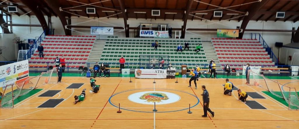 Atri, successo per la prima fase della Coppa Italia di Torball