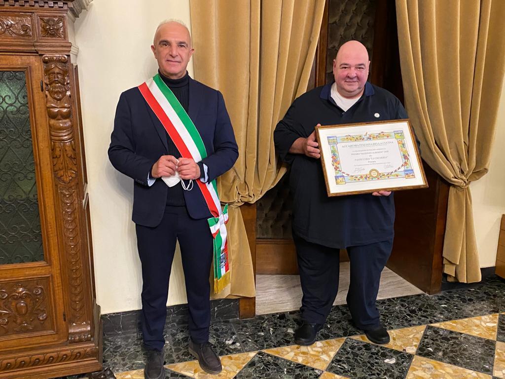 """Premio """"Massimo Alberini"""" a """"La Cremeria"""" di Giacomo De Acetis"""