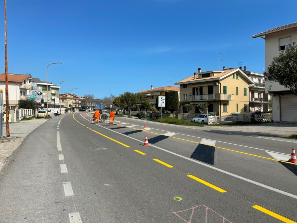 Pineto, al via i lavori per il tratto di ciclopedonale tra il quartiere dei Poeti e borgo Santa Maria