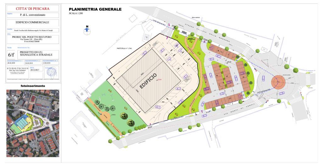 Pescara, nuova rotatoria ai Colli: al via il cantiere