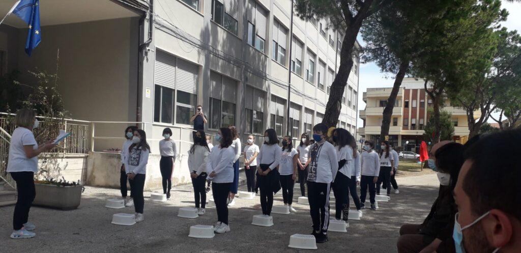 Giulianova, inaugurato il nuovo percorso ginnico della scuola media Bindi