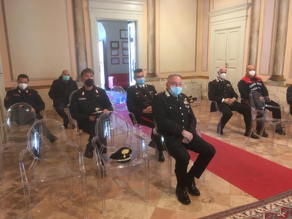 Amp Torre del Cerrano incontra i comandi territoriali dei Carabinieri