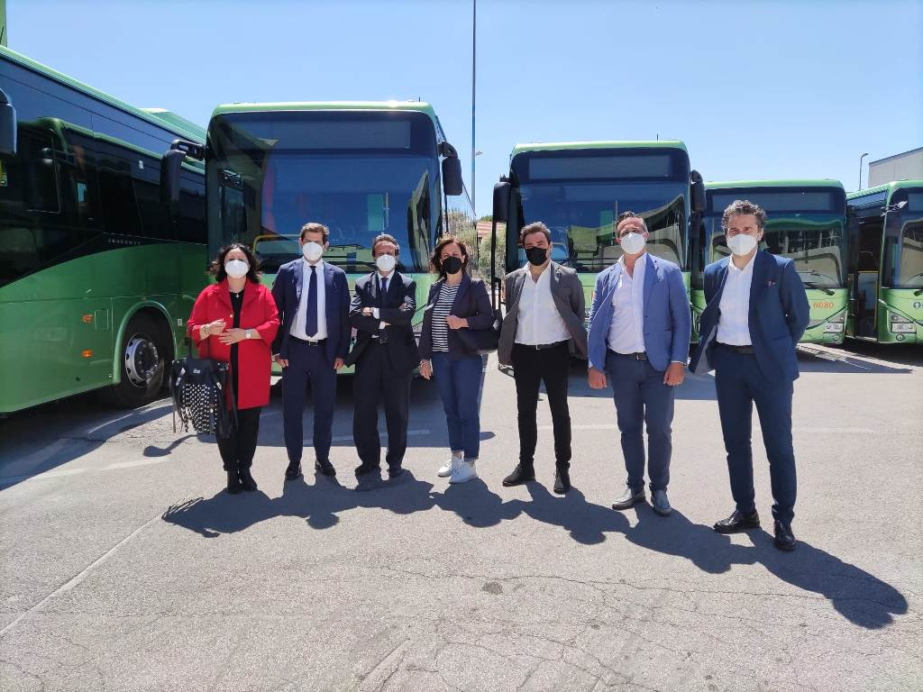 8 nuovi bus a basso impatto ambientale entreranno in servizio in provincia di Teramo