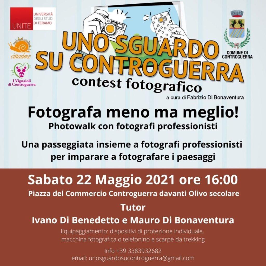 """A Controguerra """"Fotografa di meno ma meglio - Photowalk con fotografi"""""""