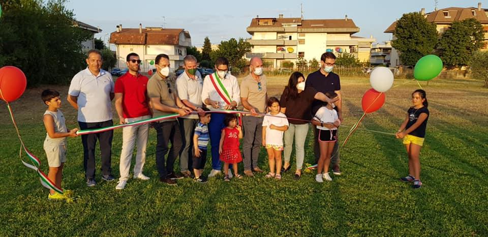 Sant'Omero, inaugurato il parco dello sport di Garrufo
