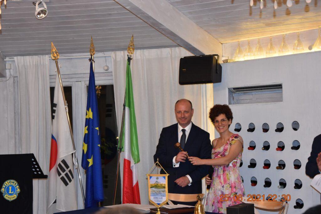 Lions Club Roseto degli Abruzzi Valle del Vomano, Fedele Di Domenicantonio è il nuovo presidente