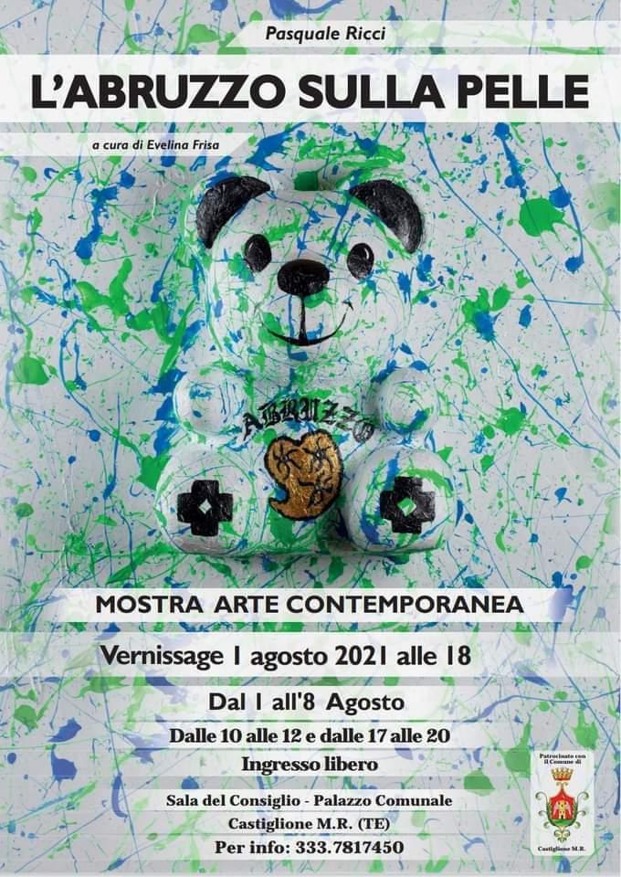 A Castiglione M. R. la mostra L'Abruzzo sulla Pelle. Prima personale di Pasquale Ricci
