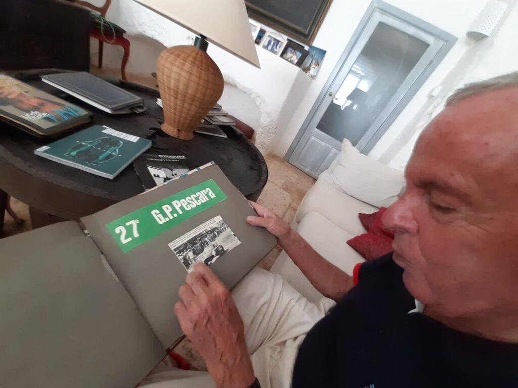 Cesare Fiorio domani sul Circuito di Pescara con una Lancia Appia Zagato