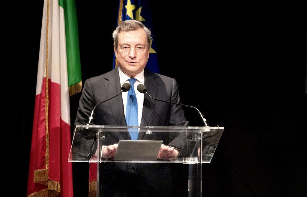 Sisma L'Aquila, visita del premier Draghi e ministro Carfagna